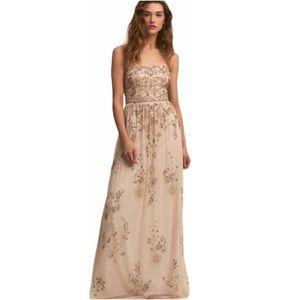 Adrianna Papell BHLDN Mason 16 Beaded Sequin Gown